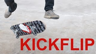 LEARN TO KICKFLIP IN 5HOURS AND 47MINS