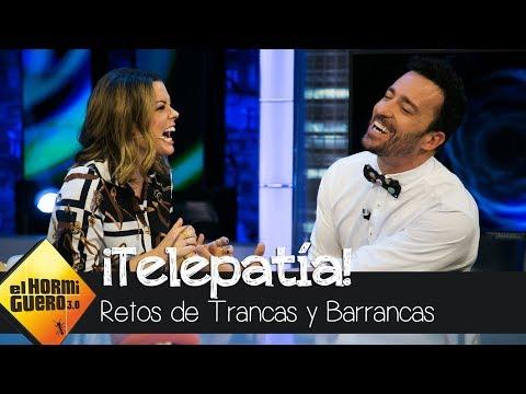Adriana Torrebejano y Pablo Puyol demuestran sus poderes telepáticos - El Hormiguero 3.0