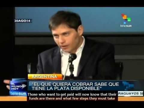Argentine congress to consider debt payment plan