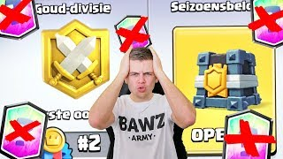 NOOIT EEN LEGENDARY UIT CLAN WAR BELONING!! CLASH ROYALE NEDERLANDS