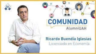 Comunidad AlumniUAH · Ricardo Buendía