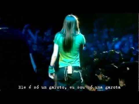Avril Lavigne - Sk8er Boi (Live in Dublin 2003) Legendado #HD