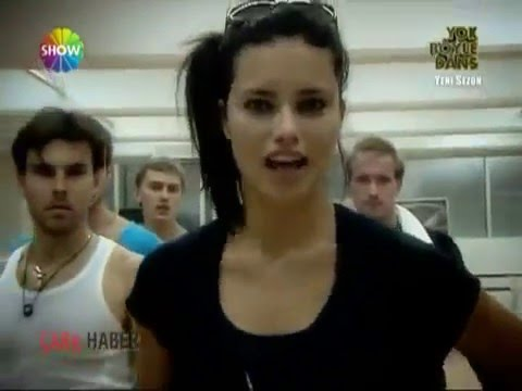 Adriana Lima Dancing on 'Yok Böyle Dans' Turkey/Istanbul
