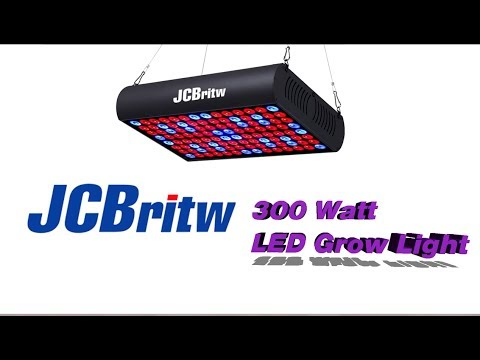 Review: JCBritw Full Spectrum 300 Watt LED Grow Light