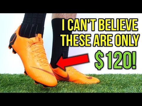 THE BEST $120 MERCURIALS OF ALL-TIME! - Nike Mercurial Vapor 12 Pro (Orange) - Review + On Feet