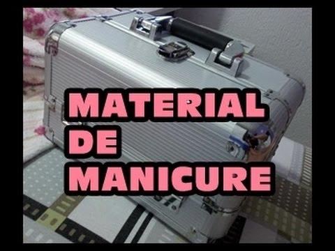 Material de manicure completo!!! Segredos de Manicure