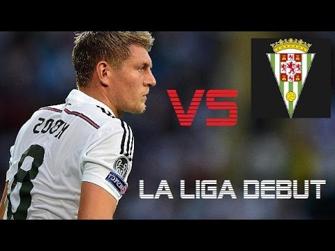 Toni Kroos vs Cordoba | Real Madrid vs Cordoba 2-0 | La Liga 2014 Debut