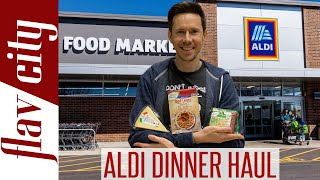 ALDI Dinner Haul - Budget Grocery Shopping w/ Recipes!