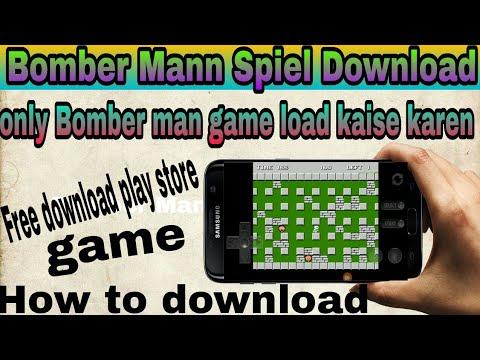 Bomber man game download kaise Karen best game free download ke liye video Dekho
