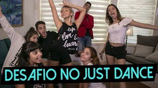 DESAFIO NO JUST DANCE feat. Primos || Giulia Nassa