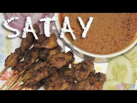 What Is Satay? / Chicken Satay with Peanut Sauce Recipe