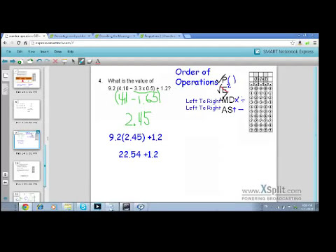 GED Math Number operations examples