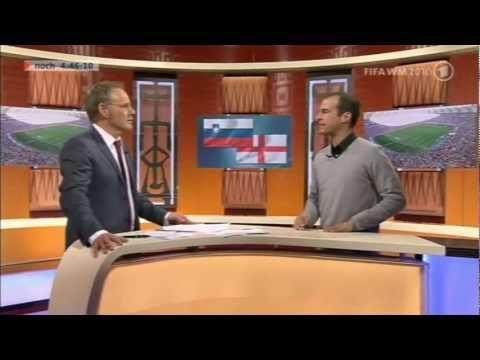 Mehmet Scholl kritsiert john Terry (Terry ging mit der Freundin von Wayne Bridge,fremd )