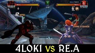 Alliance War: 4L0ki -vs- RE.A | Season 6, War 4 | Marvel Contest of Champions