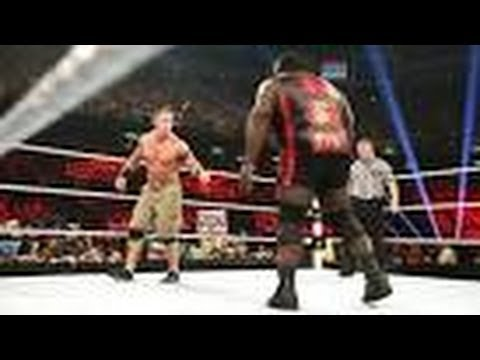 WWE-John cena Vs Mark Henry At Money In The Bank