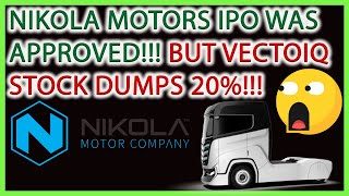 NIKOLA MOTORS IPO IS APPROVED!!! BUT VECTOIQ STOCK DROPS 20% AFTER MERGER?! 🚨 STOCK MARKET ANALYSIS🎯