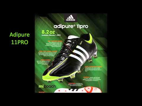 Upcoming Football Boots 2011/2012: Adidas and Nike