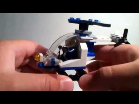 Review - Lego City Police Helicopter Polybag Set #30226