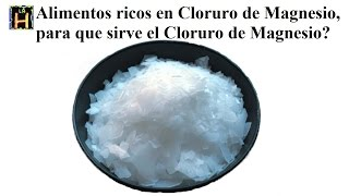 Cloruro de magnesio y bicarbonato de sodio viyoutube - En que alimentos encontramos magnesio ...