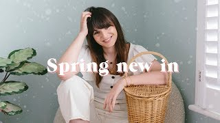 SPRING WARDROBE NEW IN & CATCH UP | What Olivia Did