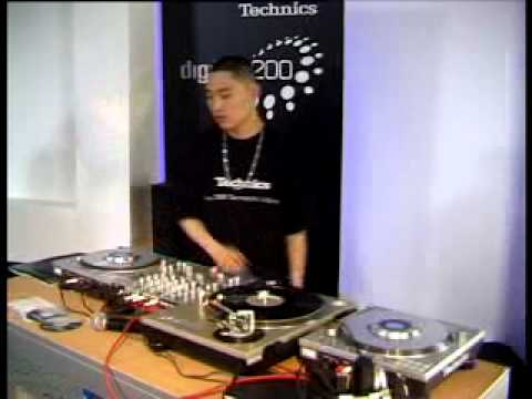 Technics SL-DZ 1200 Scratch Demo by DJ ROCKID