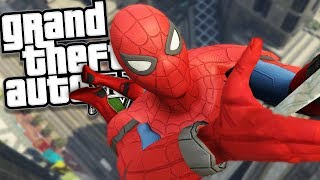 THE REAL SPIDER-MAN MOD w/ SUPER POWERS (GTA 5 PC Mods Gameplay)