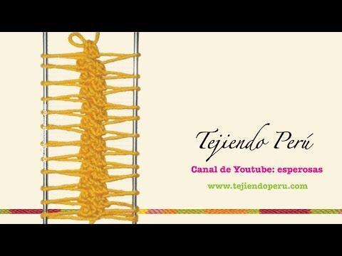 Horquilla: variaciones al tejer las tiras (Parte 1)