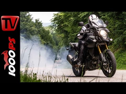 Suzuki V-Strom 1000 Stunts | Stunt Friday Action