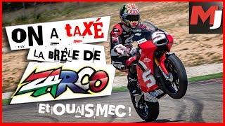 JOHANN ZARCO nous fait tester sa moto d'entrainement - MOTO JOURNAL