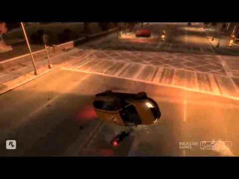 GTA 4 Carmageddon 2 - Yakety Sax