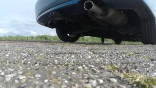honda civic FD 1.3 vtec stock exhaust sound stock