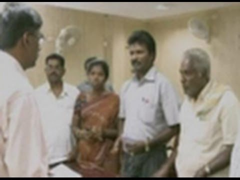 Alexis Premkumar's brother meets Collector