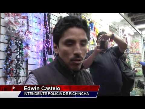 Operativos de control a la pirotecnia ilegal en Quito