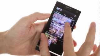 Sony Xperia SL hands-on