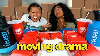 NEW SICHUAN PANDA EXPRESS MUKBANG + MOVING DRAMA! (My Gf is a HOARDER!)