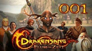 Let's Play Drakensang: Am Fluss der Zeit #001 - Das Abenteuer beginnt [720p] [deutsch]