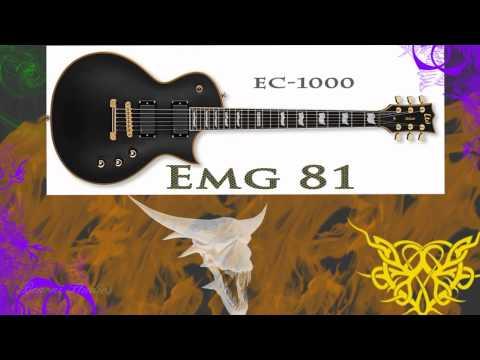 Head To Head - EMG 81 vs. Seymour Duncan Blackout AHB-1 - Bridge Pickups