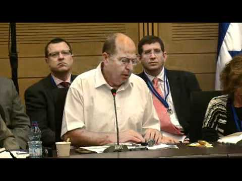 Consultation withM.K.Moshe Ya'alon Vice Prime Minister&Minister of Strategic Affairs of Israel Part1
