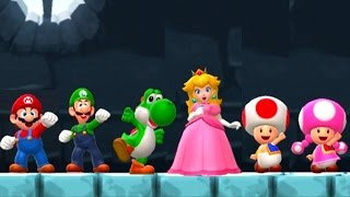 Super Mario Run - All Characters vs Bowser