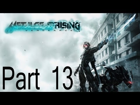 Metal Gear Rising Part 13 Monsoons Demise (Commentary)