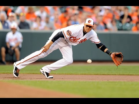 Manny Machado Defensive Highlights- HD
