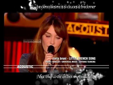 [Vietsub + Kara] Little French Song - Carla Bruni