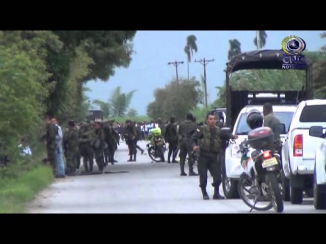 Emboscados policías en Padilla-Cauca CANAL CNC PUERTO TEJADA