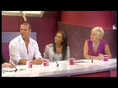 Paddy McGuinness on Loose Women - sex addicts & Mel B gets stuck 15/9/13