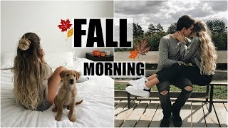 Get Ready With Me // Fall Morning Routine