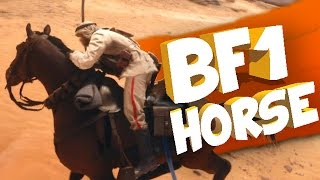 Battlefield 1 HORSE GAMEPLAY! BF1 OTTOMAN Horses