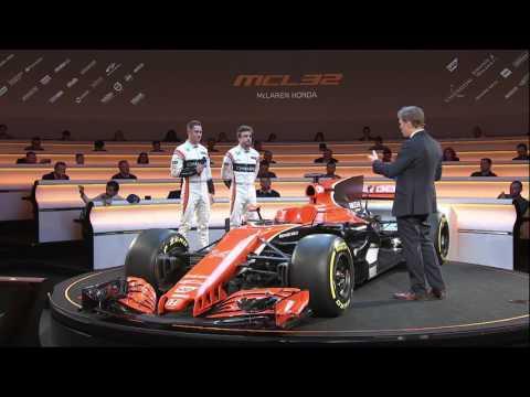 F1 2017 - McLaren MCL32 launch show