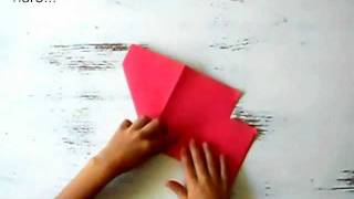 Origami Tutorial: How To Make An Origami Heart