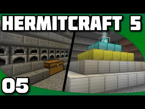 Hermitcraft 5 - Ep. 5: Beacon and Super Smelter!