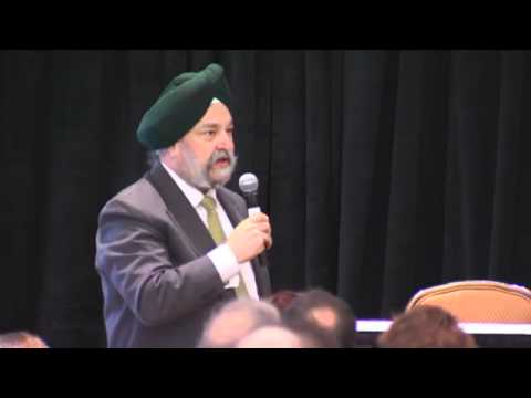UN Secretary-General Ban gives the keynote address at